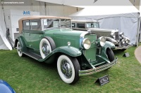 1930 LaSalle Model 340.  Chassis number 610649