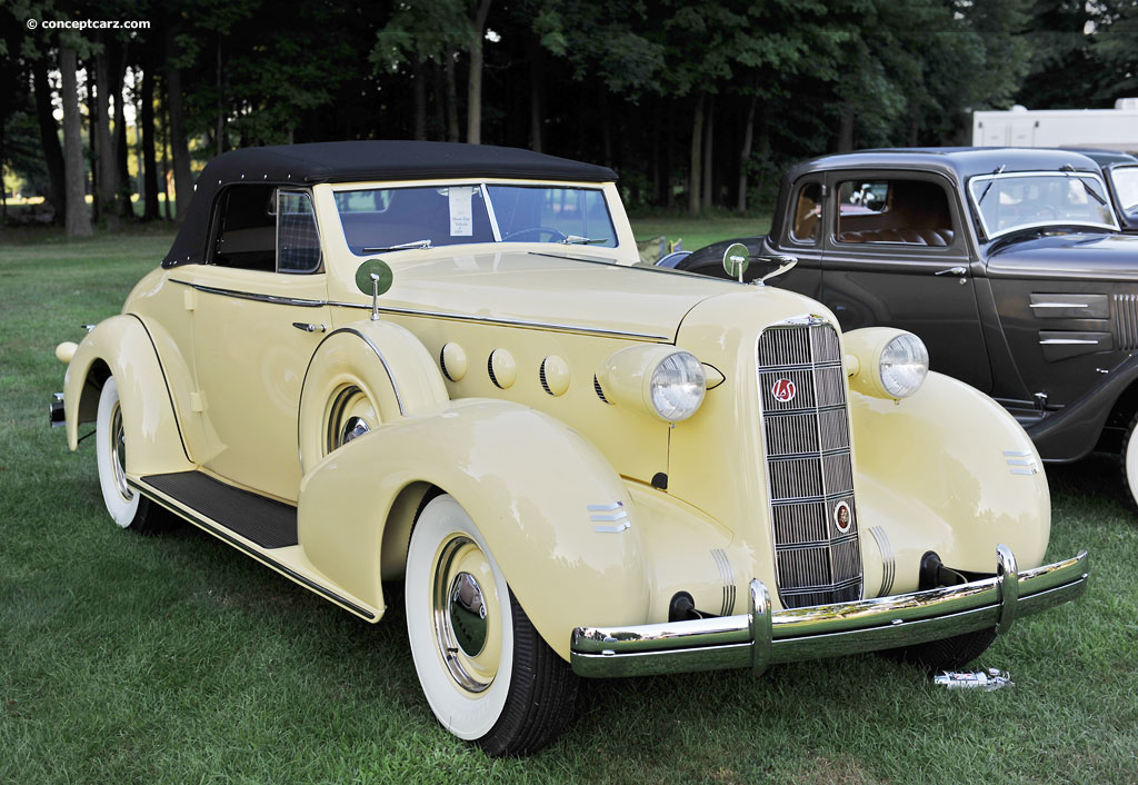 1935 Lasalle Model 35 Series 5067 History Pictures Value Auction Sales Research And News