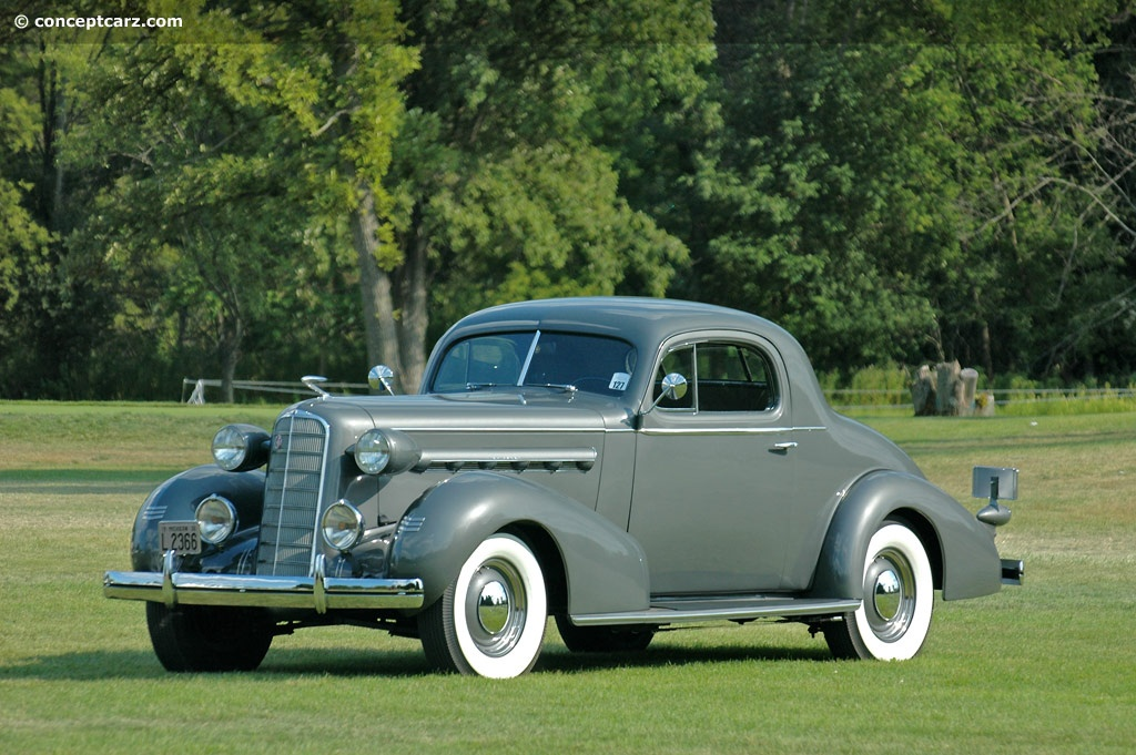 1936 Lasalle Series 36 50 History Pictures Sales Value