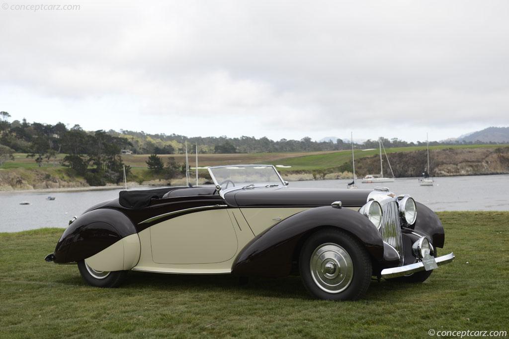 1939 Lagonda V12 Image Chassis Number 14091