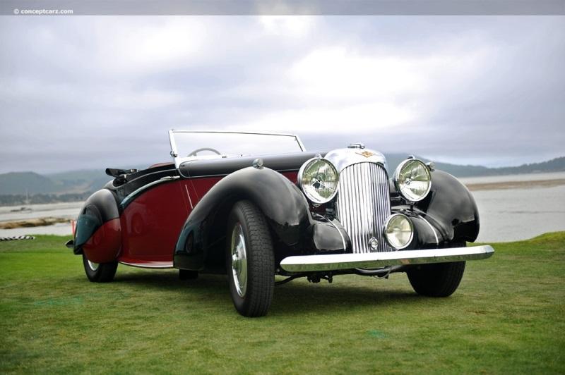 1939 Lagonda V12 Chassis Information