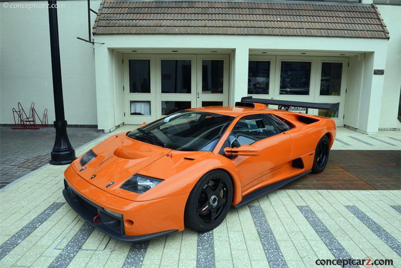 2000 Lamborghini Diablo Gtr Image Chassis Number Za9eagtr0yla12492