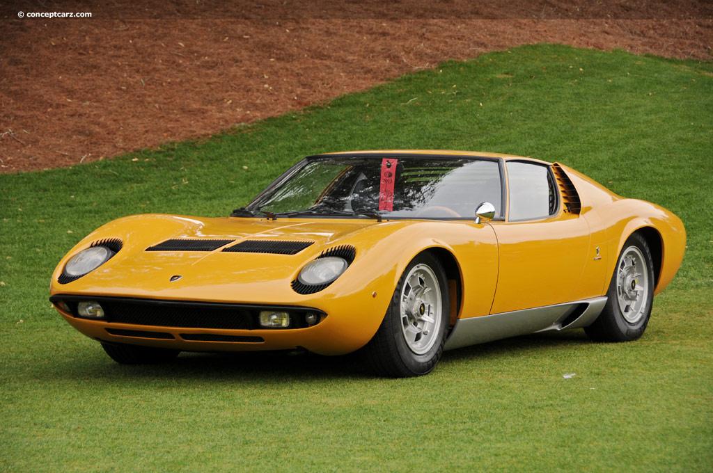 1967 Lamborghini Miura P400 Image Chassis Number 0706 Photo 13 Of 48