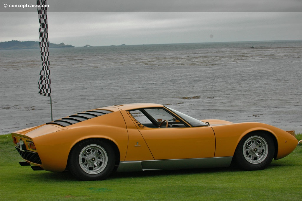 Lamborghini Miura Price >> 1967 Lamborghini Miura P400 Image. Chassis number 0706 ...