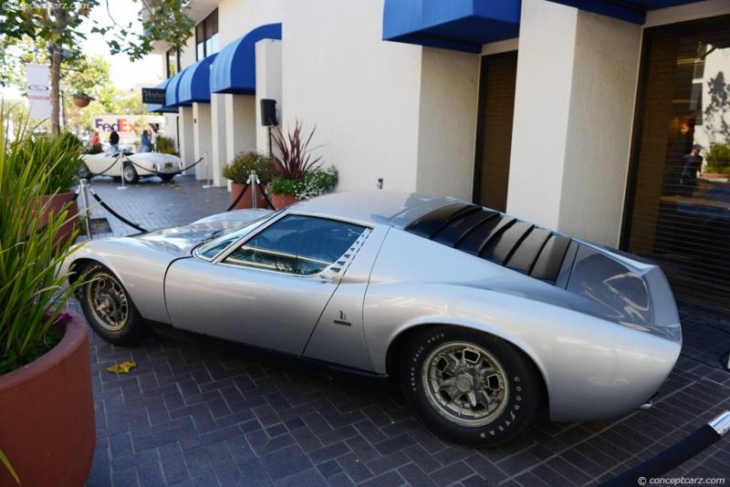 Chassis 4262 1969 Lamborghini Miura P400 Chassis Information