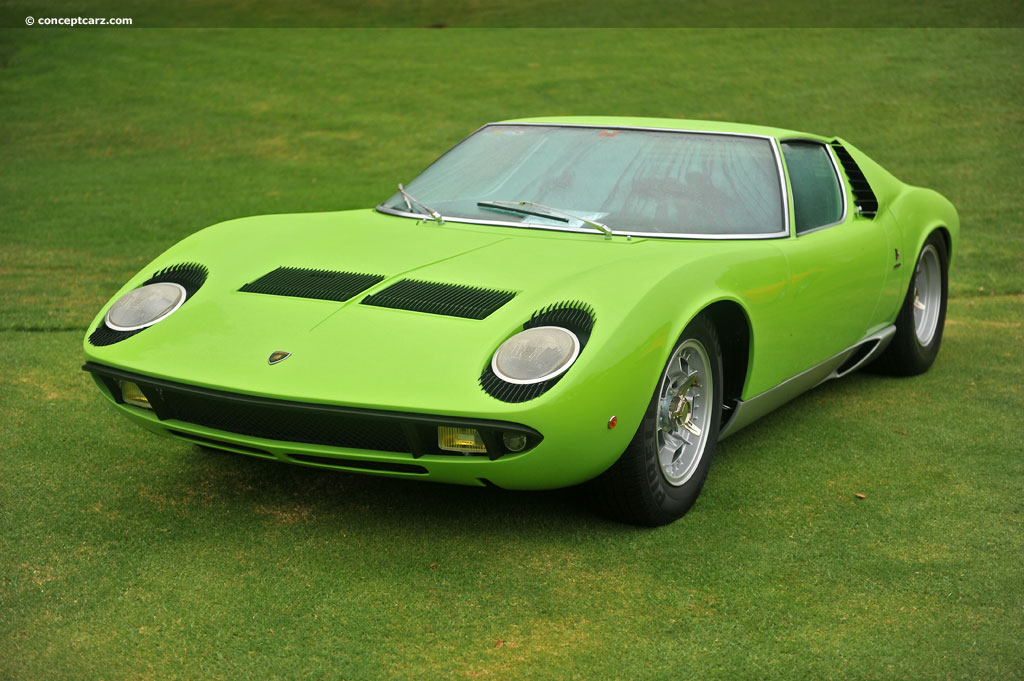 Auction Results And Data For 1970 Lamborghini Miura P400s Conceptcarz Com