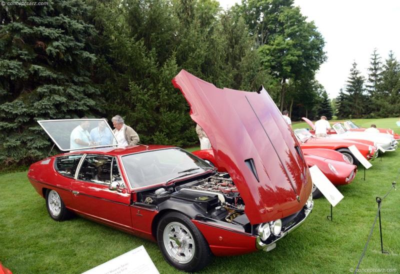 Chassis 8394 Engine 40603 1971 Lamborghini Espada Chassis Information