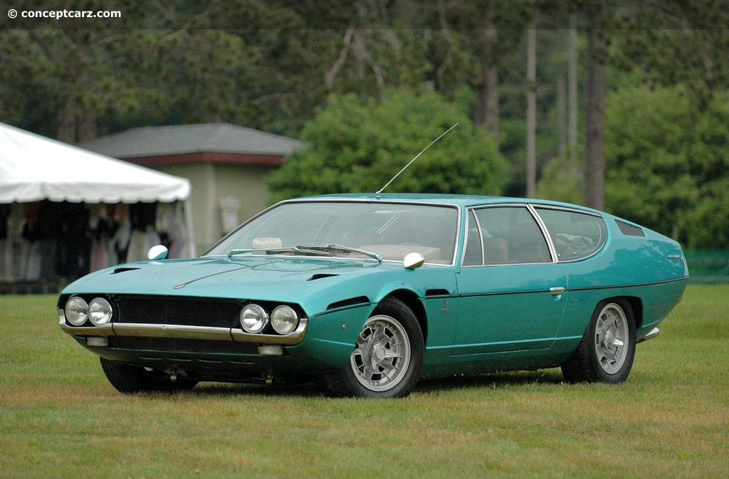 1971 Lamborghini Espada History Pictures Value Auction