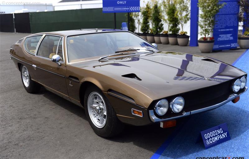 Chassis 8486 Engine 40655 1971 Lamborghini Espada Chassis Information