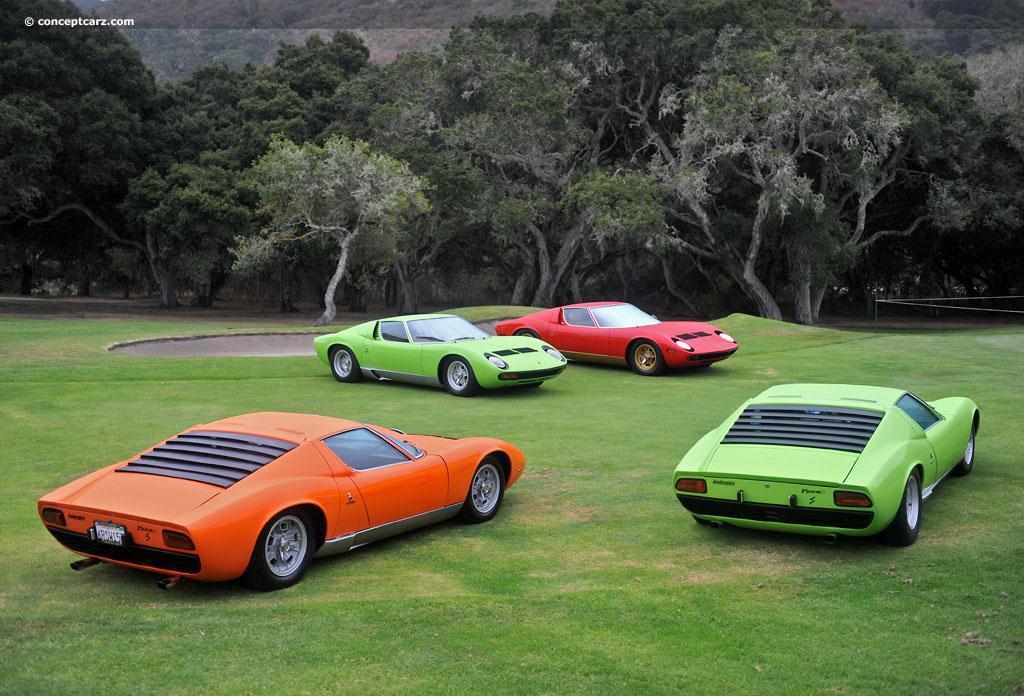 Auction Results And Sales Data For 1971 Lamborghini Miura P400sv