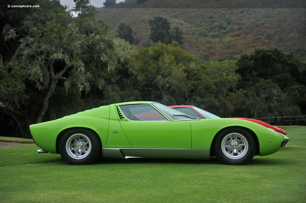 1971 Lamborghini Miura P400sv Image Photo 144 Of 220