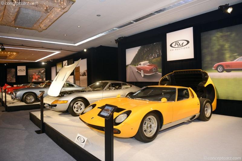 Chassis 4942 1971 Lamborghini Miura P400sv Chassis Information