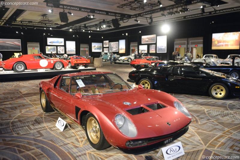 Chassis 4892 Engine 30640 1971 Lamborghini Miura P400sv Chassis