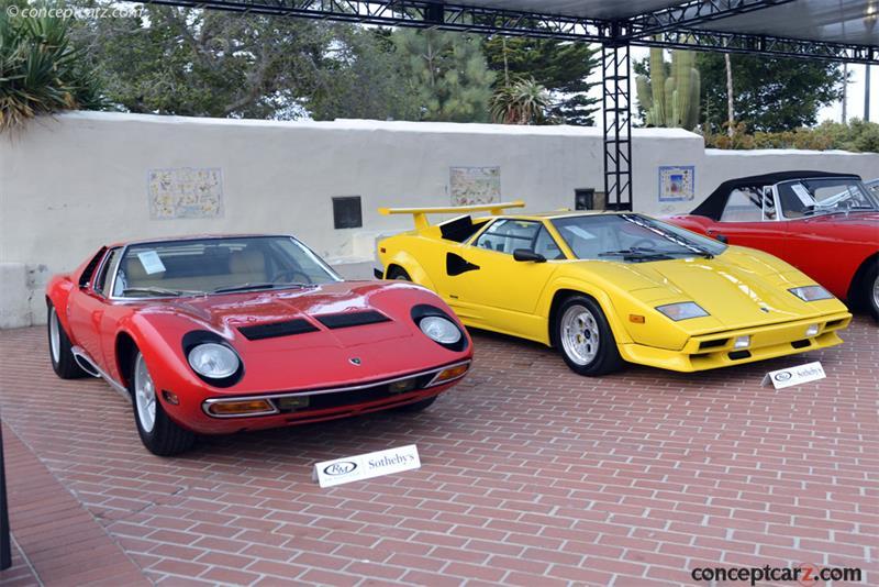Chassis 4920 Engine 30655 1971 Lamborghini Miura P400sv Chassis