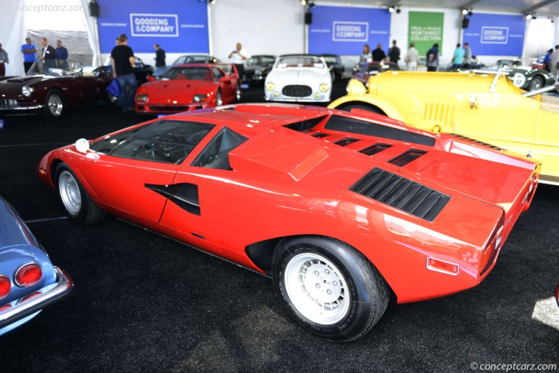 Chassis 1120010 1974 Lamborghini Countach Chassis Information