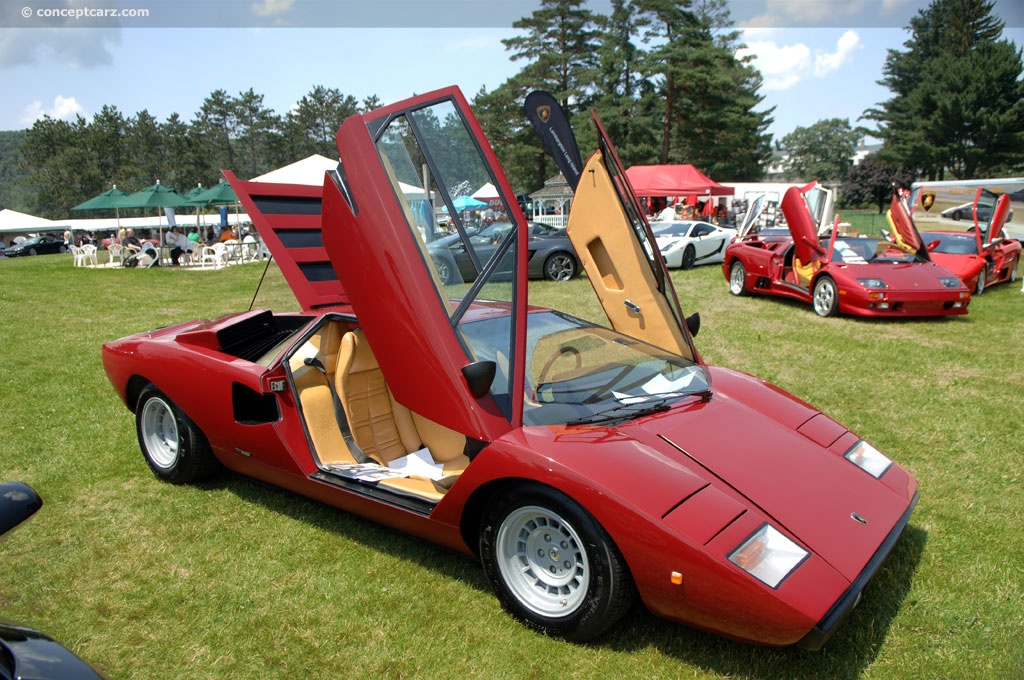1975 Lamborghini Countach Lp400 Image Chassis Number