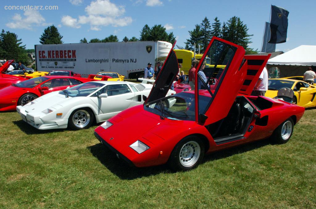 1975 Lamborghini Countach Lp400 Image Chassis Number 120086 Photo 32 Of 33