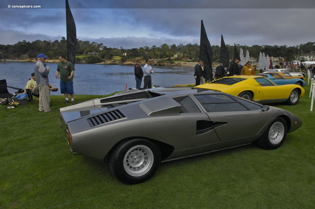 Auction Results and Sales Data for 1977 Lamborghini Countach LP400