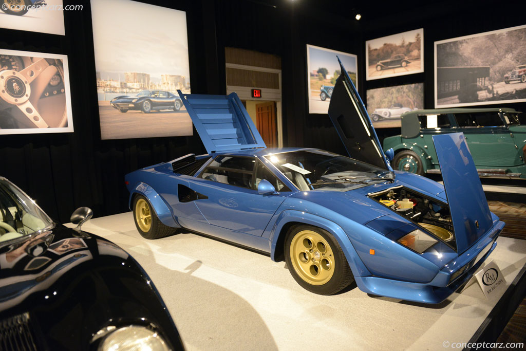 auction results and data for 1979 lamborghini countach lp400s. Black Bedroom Furniture Sets. Home Design Ideas