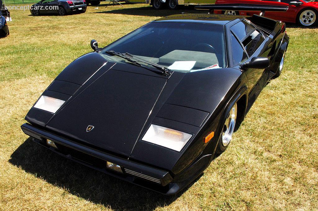 1980 Lamborghini Countach Lp400s Image Chassis Number