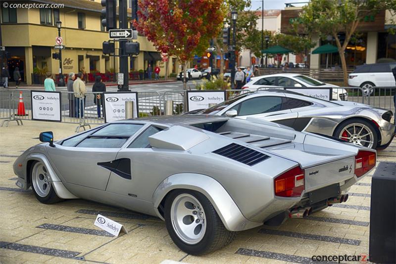 1981 Lamborghini Countach Lp400s Conceptcarz Com