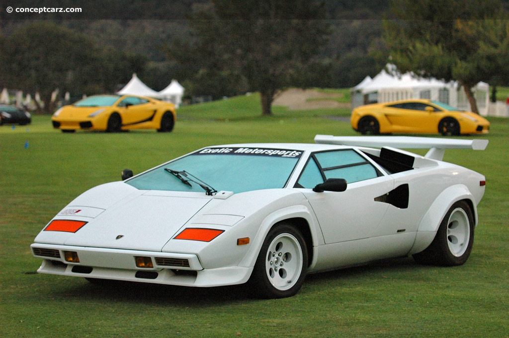Auction Results And Data For 1982 Lamborghini Countach Lp