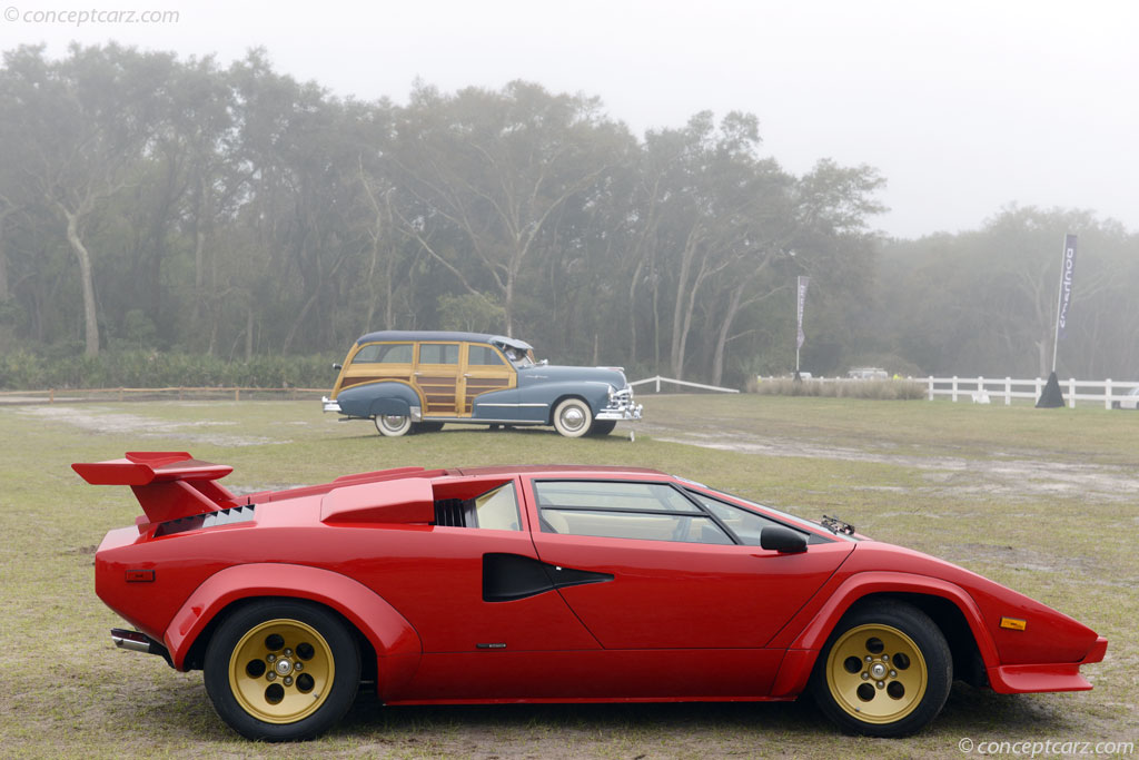 auction results and data for 1983 lamborghini countach lp500s. Black Bedroom Furniture Sets. Home Design Ideas