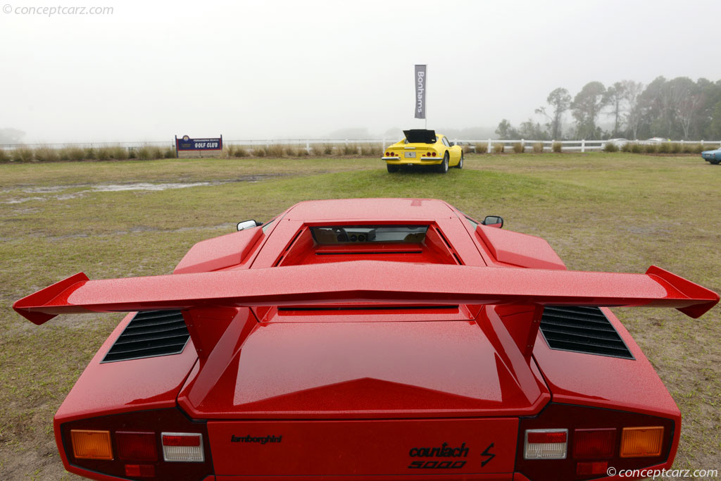 Auction Results And Sales Data For 1983 Lamborghini Countach Lp500s