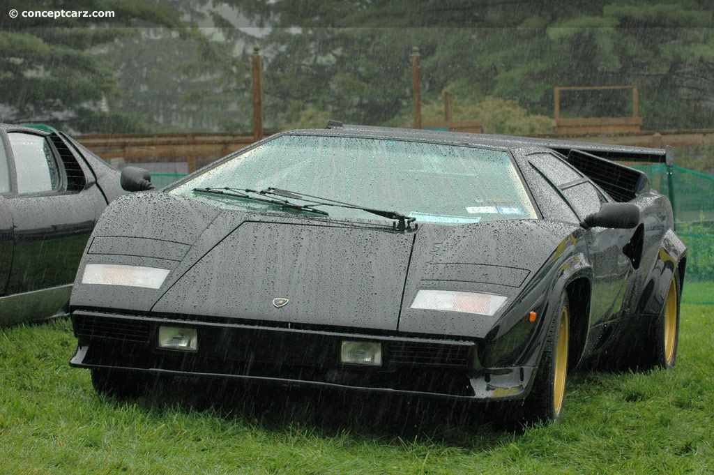 1983 Lamborghini Countach Lp500s Image Chassis Number