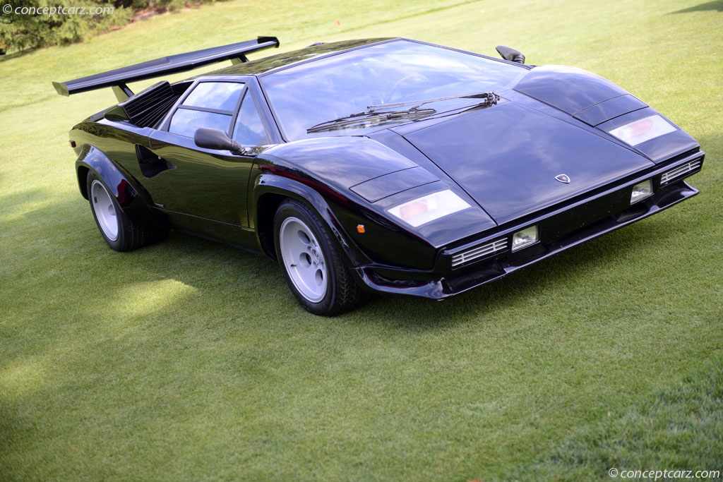 1984 Lamborghini Countach Image Chassis Number