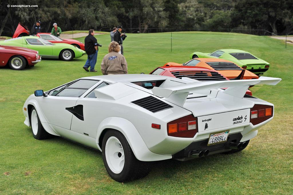 1984 Lamborghini Countach Image Photo 32 Of 36