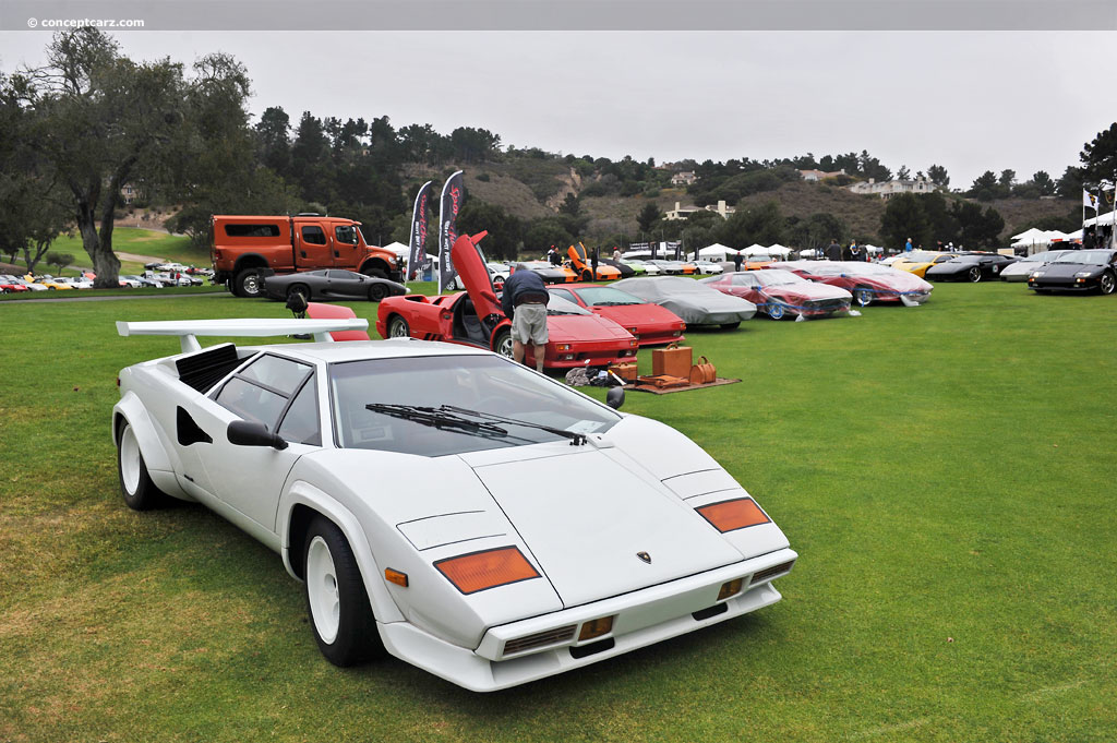 Auction Results And Sales Data For 1984 Lamborghini Countach