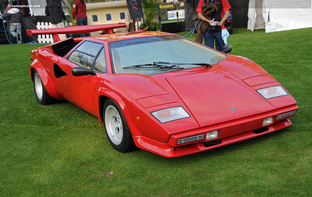 1985 Lamborghini Countach Image Chassis Number