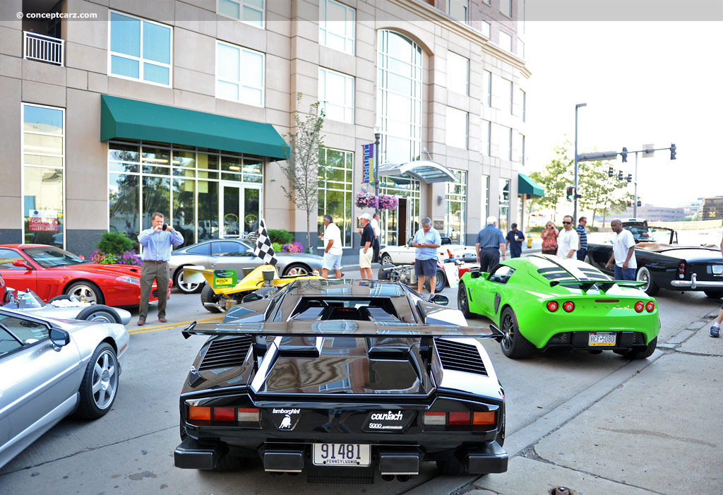 Auction Results And Sales Data For 1987 Lamborghini Countach