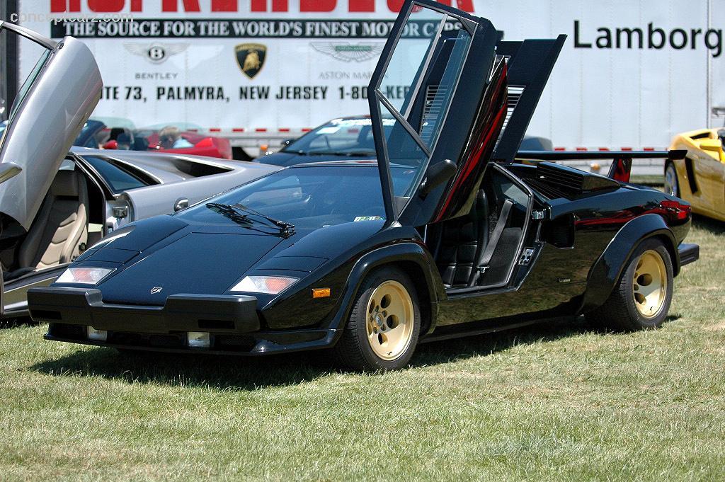 1987 Lamborghini Countach Image