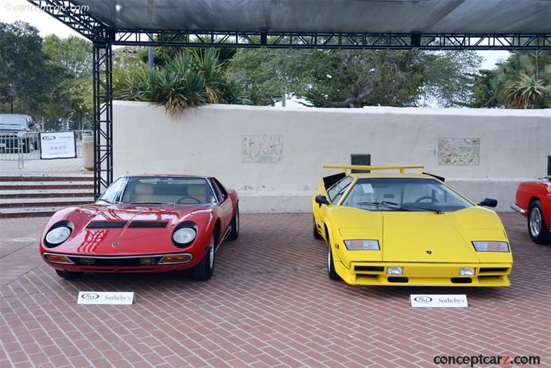 Chassis Za9ca05a2jla12218 1988 Lamborghini Countach 5000