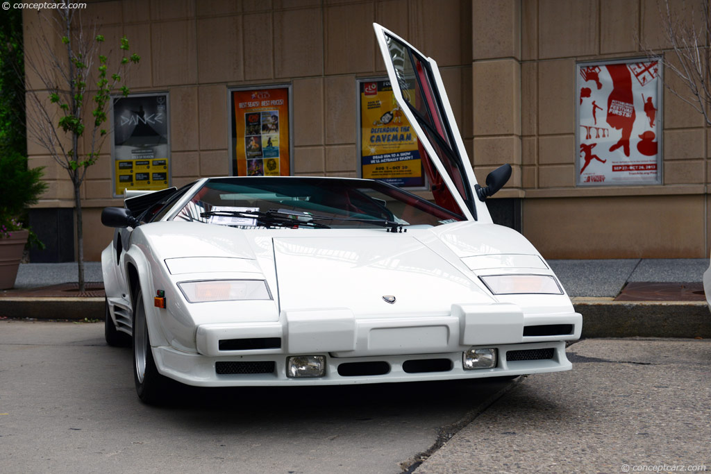Auction Results And Sales Data For 1988 Lamborghini Countach 5000