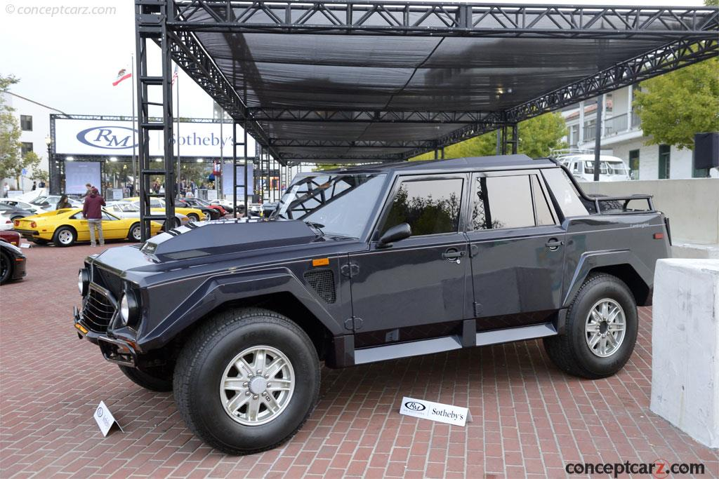 Auction Results And Sales Data For 1988 Lamborghini Lm002