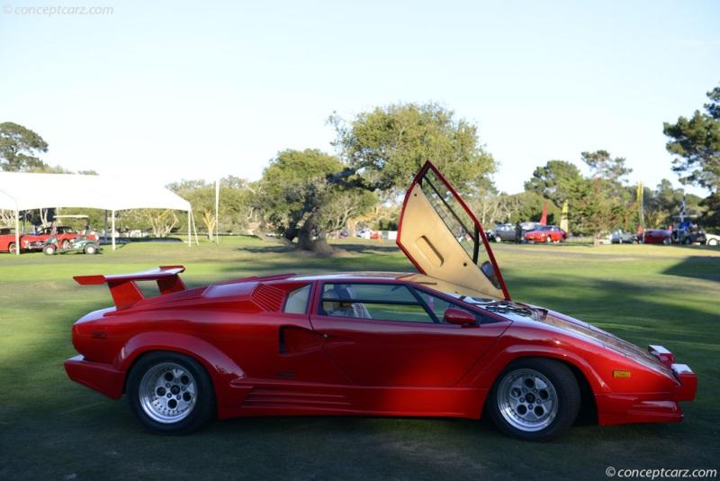 Chassis ZA9CA05A3KLA12651. 1989 Lamborghini Countach 25th ...