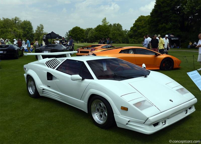 1989 Lamborghini Countach 25th Anniversary Chassis