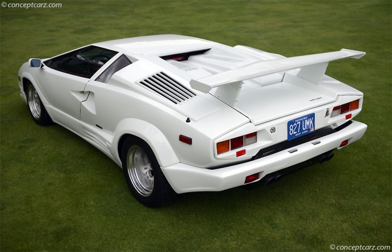 1989 Lamborghini Countach 25th Anniversary Image Photo 43 Of 141