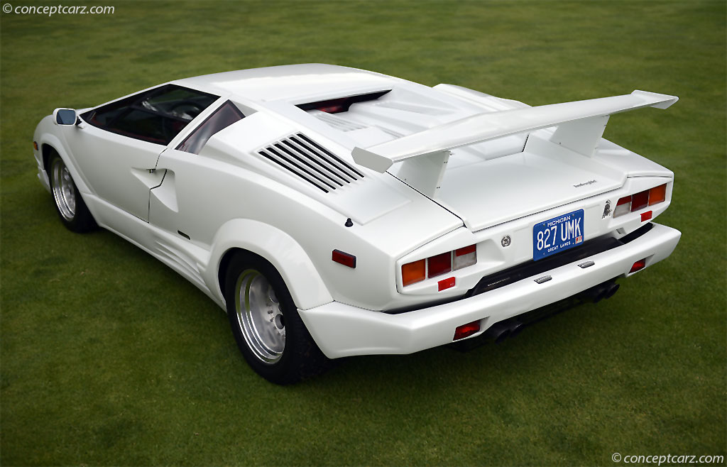 1989 lamborghini countach price