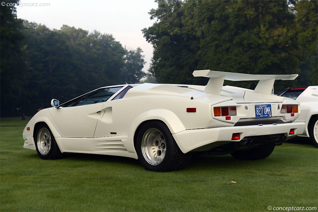 1989 Lamborghini Countach 25th Anniversary Image Photo 50