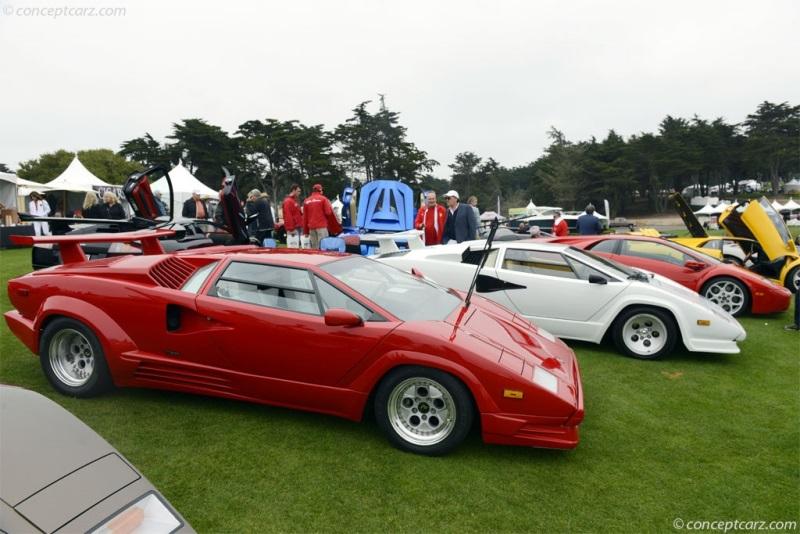 1989 Lamborghini Countach 25th Anniversary Chassis Information