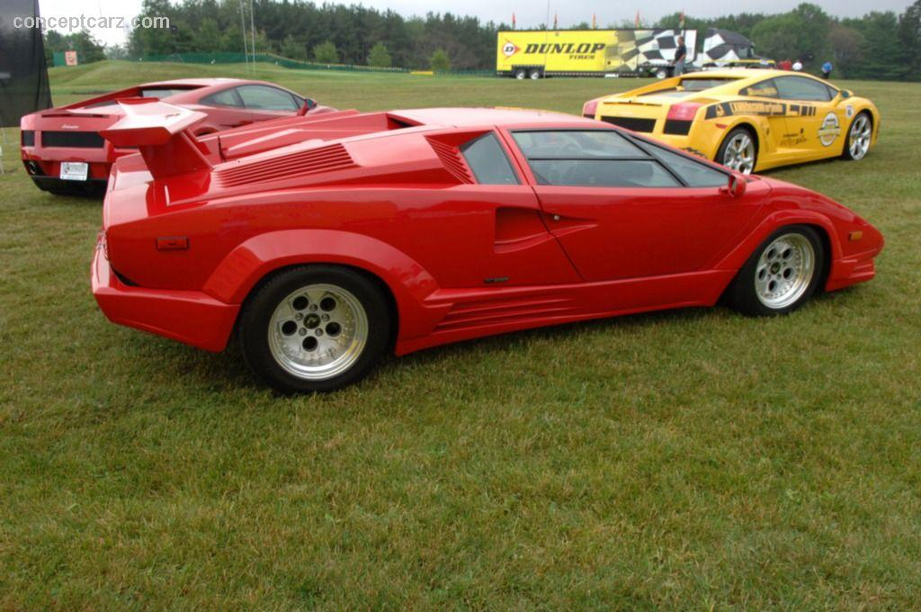 1989 Lamborghini Countach 25th Anniversary Image Photo