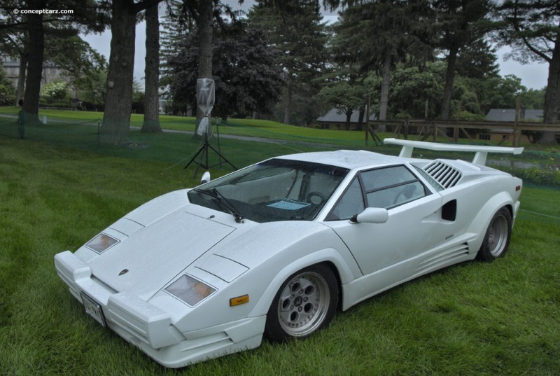 1989 lamborghini countach 25th anniversary image. chassis number