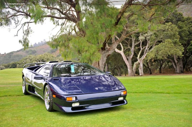 1998 Lamborghini Diablo Sv Chassis Information