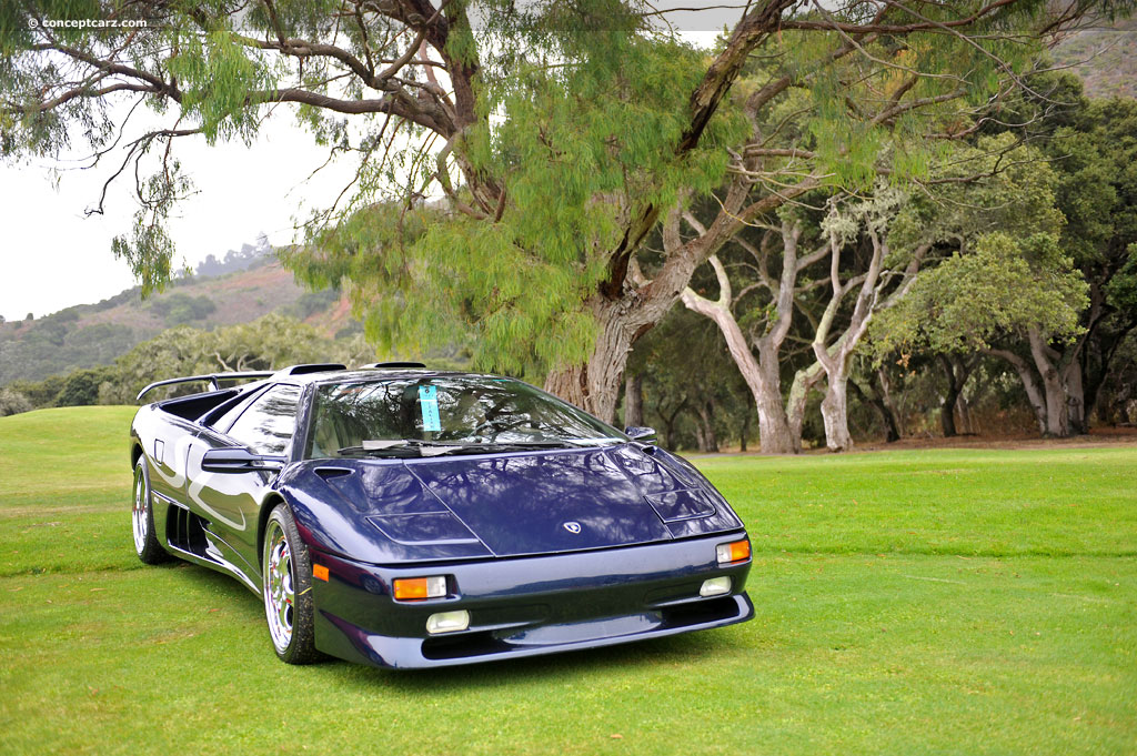 Auction Results And Sales Data For 1998 Lamborghini Diablo Sv