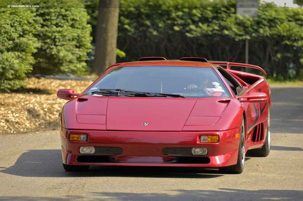 1998 Lamborghini Diablo SV History Pictures Value