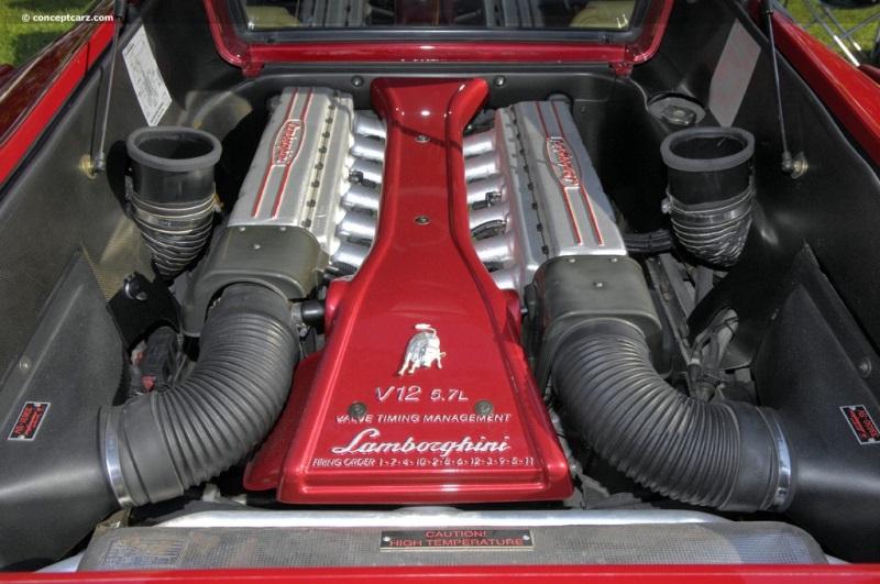 1998 Lamborghini Diablo Sv Image Chassis Number Za9du21b6wla12011